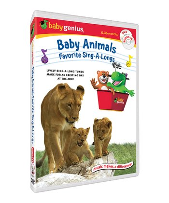 Baby Animals Favorite Sing-A-Longs DVD & CD