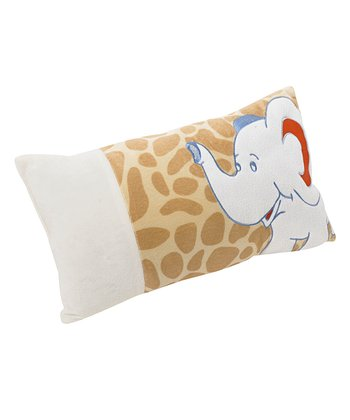 Baby Zooluland Elephant Pillow