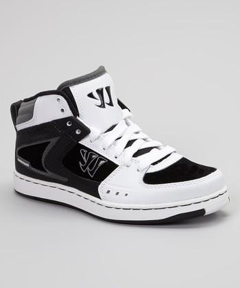 Warrior White & Black Hound Dog Sneaker