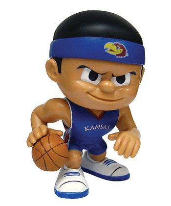 Kansas Basketball Lil' Teammate Figurine