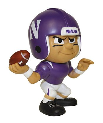 Northwestern Quarterback Lil' Teammate Figurine