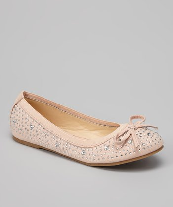 Nude Bow Lovely Flat