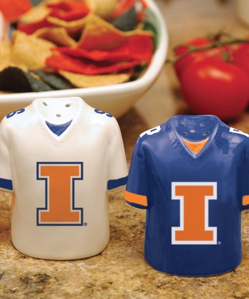 Illinois Salt & Pepper Shakers