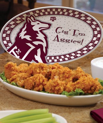 Texas A&M Game Day Ceramic Platter