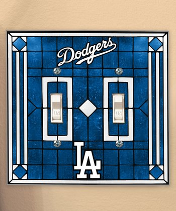 Los Angeles Dodgers Double Light-Switch Cover