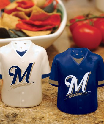 Milwaukee Brewers Salt & Pepper Shakers