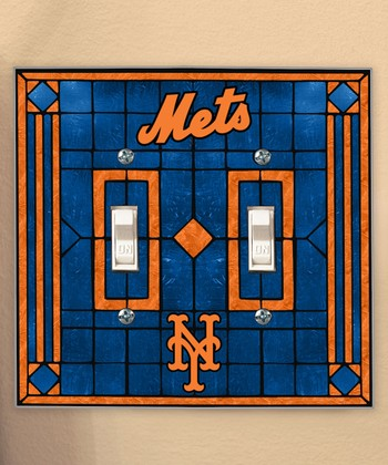 New York Mets Double Light-Switch Cover