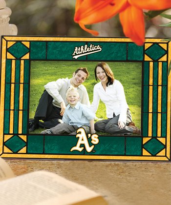 Oakland Athletics Art Glass Frame