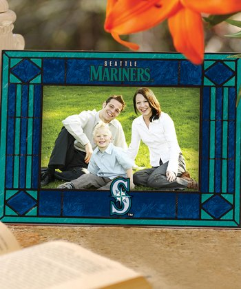 Seattle Mariners Art Glass Frame