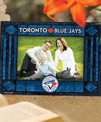 Toronto Blue Jays Art Glass Frame
