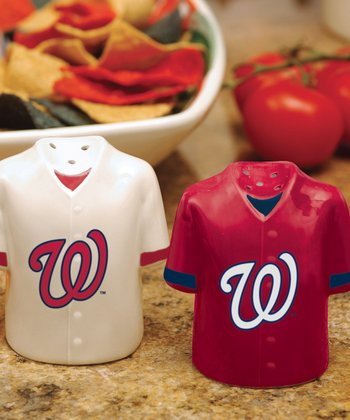 Washington Nationals Salt & Pepper Shakers
