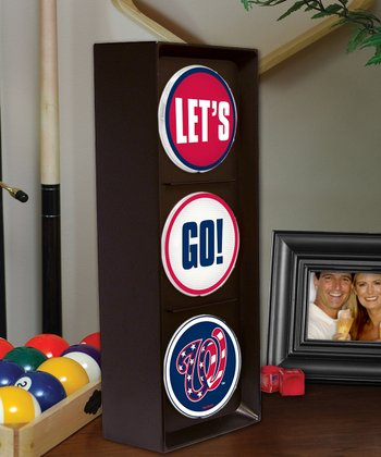 Washington Nationals 'Let's Go' Light
