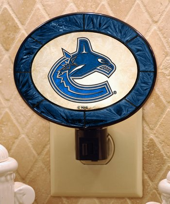 Vancouver Canucks Oval Night-Light