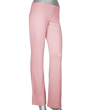 Pink Lazy Yoga Pants - Women