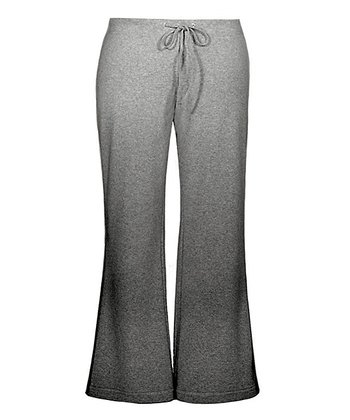 Heather Gray Drawstring Yoga Pants - Women