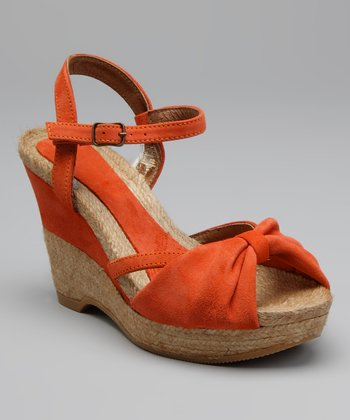 Orange Keria Espadrille