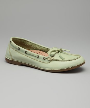Mint Leather Lisbon Loafer