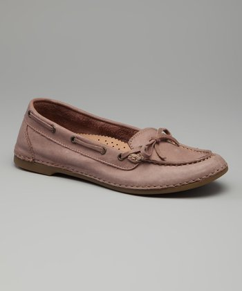 Pink Leather Lisbon Loafer