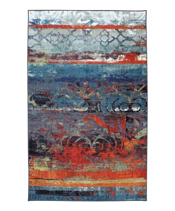 Eroded Color Rug
