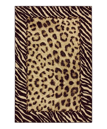 Bordered Tigress Rug