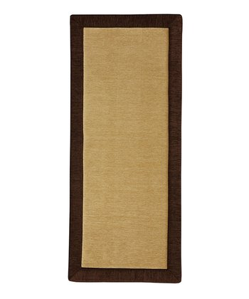 Chocolate Memory Foam Rug