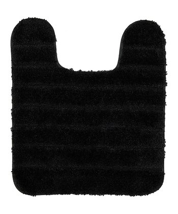 Black Gateway Contour Bath Mat