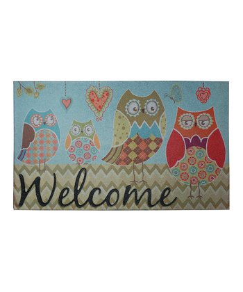 Owl Wonderful Welcome Doormat