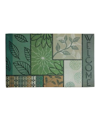 Bohemian Spring Rhapsody Welcome Doormat