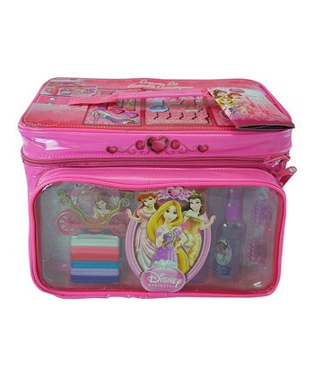 Princess Cosmetics Train Case