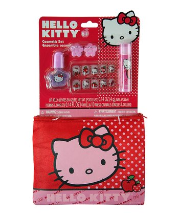 Hello Kitty Cosmetic Bag Set