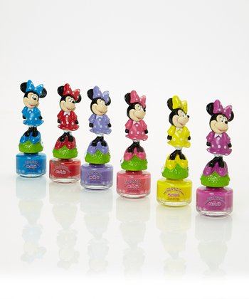 Minnie Mouse Nail Polish Set