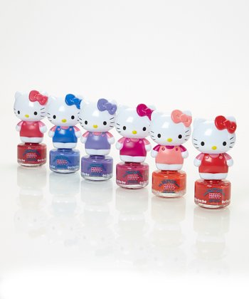 Hello Kitty Nail Polish Set