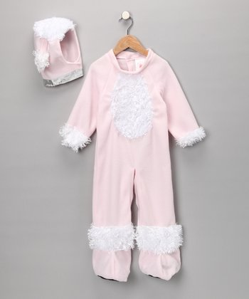 Pink Poodle Playsuit & Headpiece - Infant & Toddler