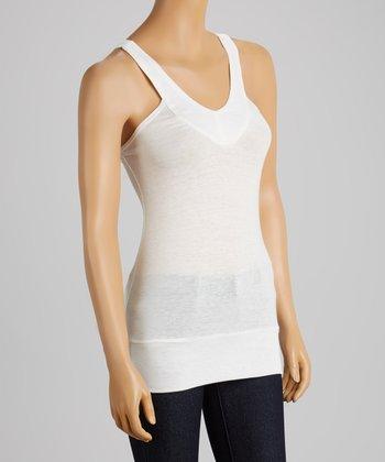 Clothing Showroom Ivory Basic Tank