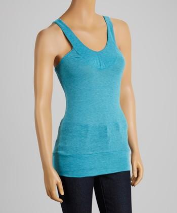 Clothing Showroom Blue Basic Tank