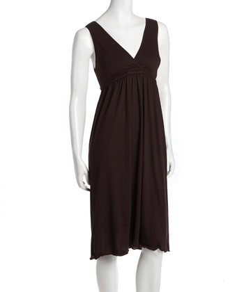 Chocolate Signature Nursing Gown - Women & Plus