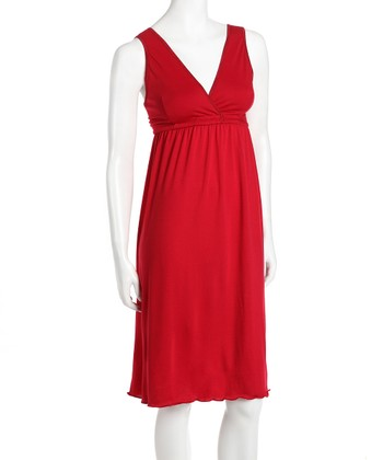 Amamante Red Signature Nursing Gown - Women