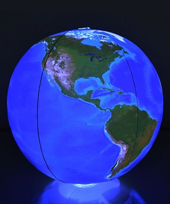 Light-Up 12'' Inflatable Globe