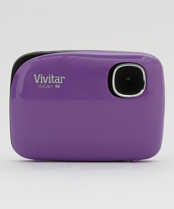 Purple 4.1 MP Digital Camera