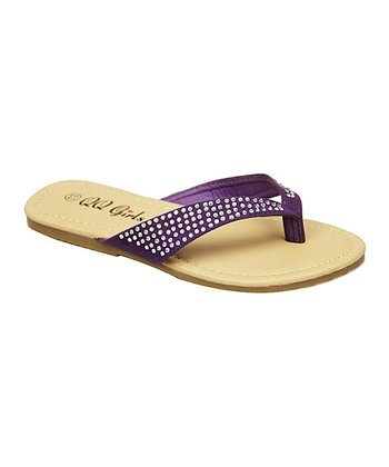 Purple Bunny Sandal