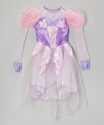 Purple Nutcracker Ballerina Dress - Girls