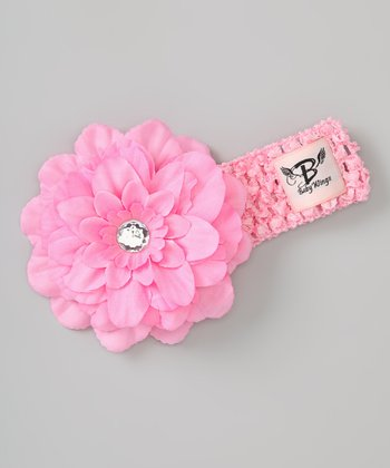 Light Pink Princess Couture Silk-Blend Headband