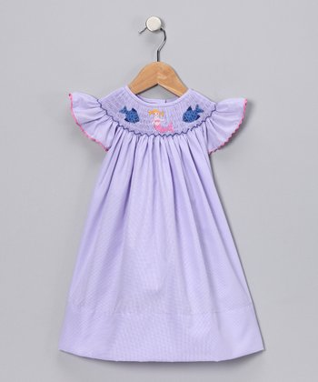 Light Purple Mermaid Dress - Infant & Toddler