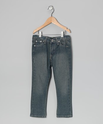 Vintage Wash Skinny Jeans - Toddler & Boys