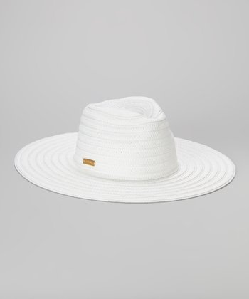 White Braid Siren Sunhat