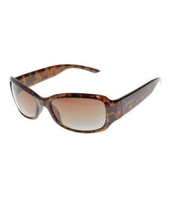 Tortoise Rectangular Sunglasses