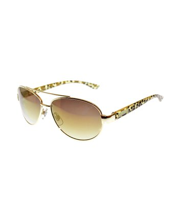 Light Gold Sunglasses