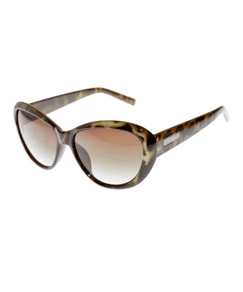 Tokyo Tortoise & Milky Mustard Cat-Eye Sunglasses