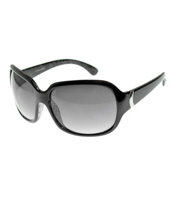Black & Silver Square Sunglasses