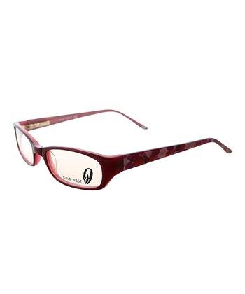 Pink Violet Eyeglasses